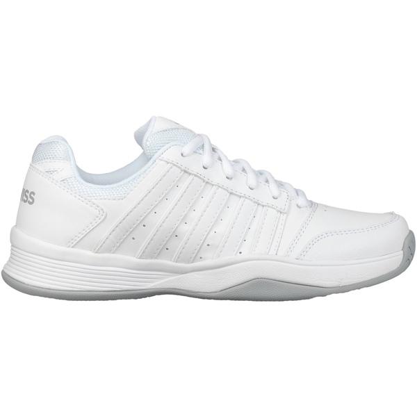 ケースイス レディース スニーカー シューズ K-Swiss Women's Court Smash Tennis Shoes Grey