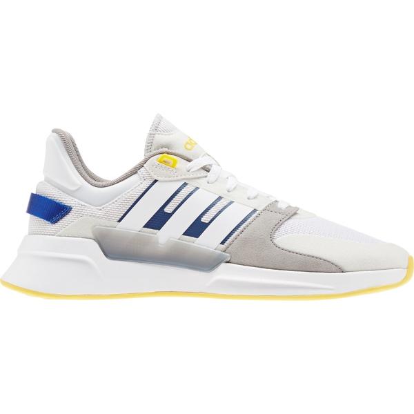 アディダス メンズ スニーカー シューズ adidas Men's Run 90s Shoes Grey/White/Grey