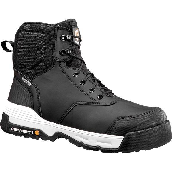 """カーハート メンズ ブーツ&レインブーツ シューズ Carhartt Men's Force 6"""" Waterproof Composite Toe Work Boots Black"""