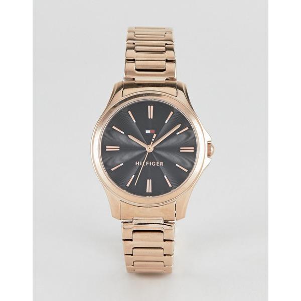 トミー ヒルフィガー レディース 腕時計 アクセサリー Tommy Hilfiger Lori bracelet watch in gold 35mm Gold