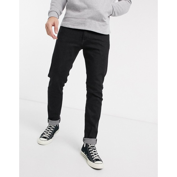 エドウィン メンズ デニムパンツ ボトムス Edwin ED85 skinny fit jeans in black denim Black rinsed