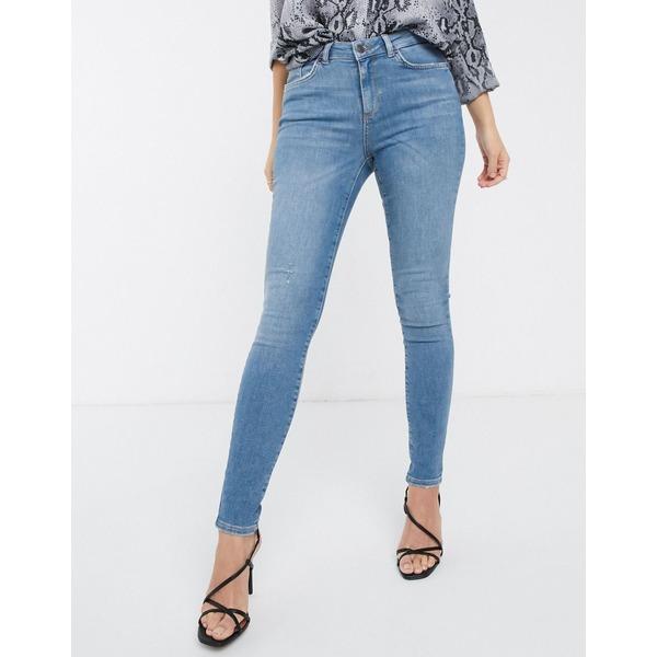 ヴェロモーダ レディース デニムパンツ ボトムス Vero Moda skinny jeans Blue