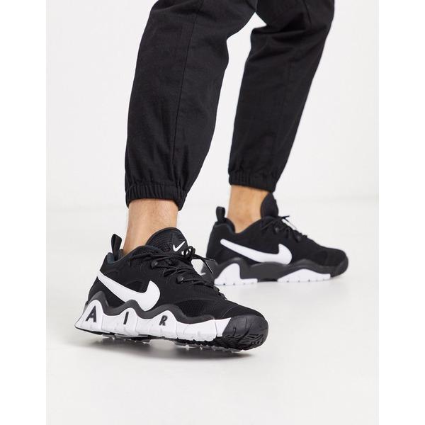 ナイキ メンズ スニーカー シューズ Nike Barrage low sneakers in black Black