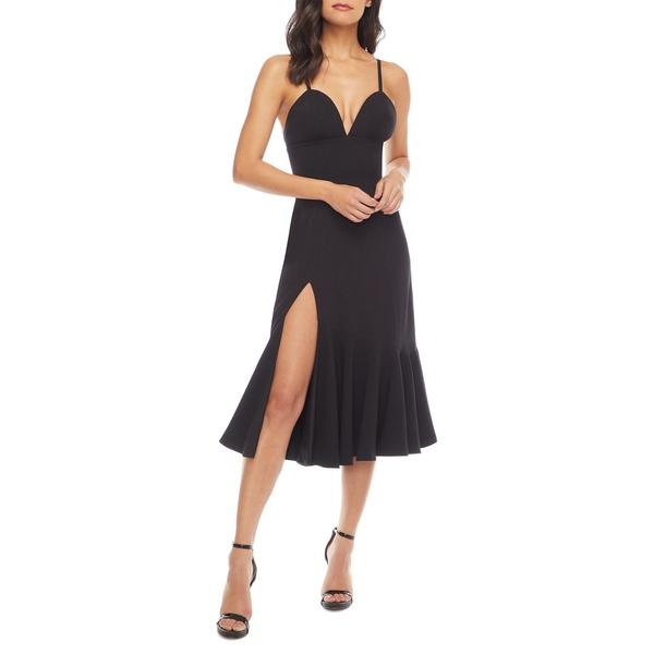 ドレスザポプレーション Midi Dress レディース Cup ワンピース トップス Marilyn Bustier Cup Ruffle Skirt Midi Dress Black, 木之本町:2d1e87e8 --- officewill.xsrv.jp