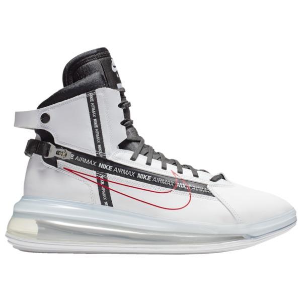 ナイキ メンズ バスケットボール スポーツ Air Max 720 SATRN White/Black/Red