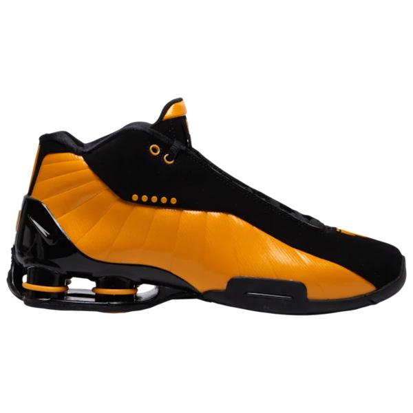 ナイキ メンズ バスケットボール スポーツ Shox BB4 Black/University Gold