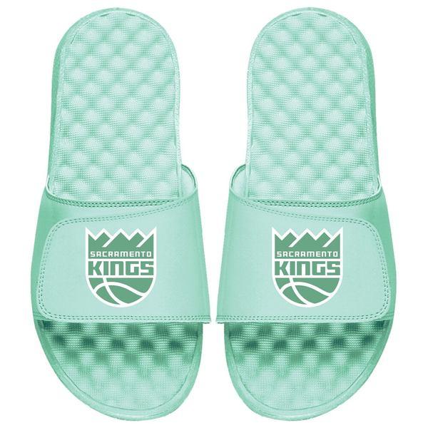 アイスライド メンズ サンダル シューズ Sacramento Kings ISlide Seafoam Collection Slide Sandals Mint Green