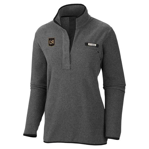 コロンビア レディース ジャケット&ブルゾン アウター LAFC Columbia Women's Harborside Fleece Pullover Jacket Charcoal