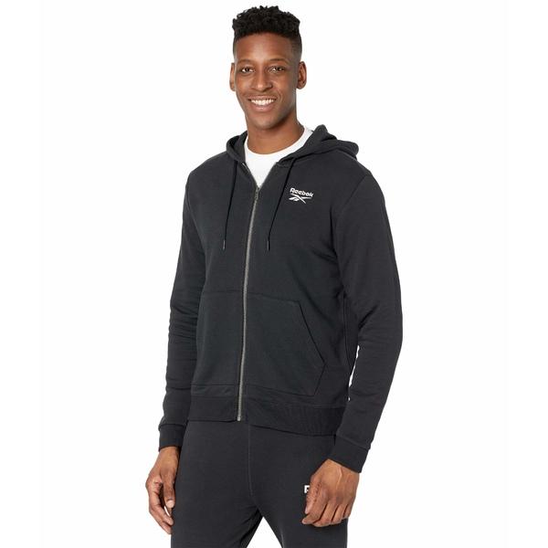 【全品送料無料】 リーボック メンズ コート アウター Training Essentials Jacket Black, ホビーショップルーツ 1d20ec75