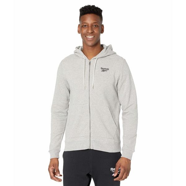本物保証!  リーボック メンズ コート アウター Training Essentials Jacket Medium Grey Heather, bメイト 58d60ae9