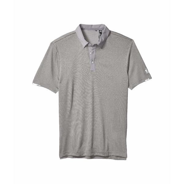 アディダス メンズ シャツ トップス Heat.Rdy Base Polo Shirt Grey Three Melange