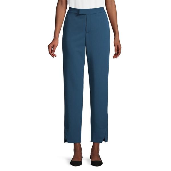 エイチ ホルストン レディース カジュアルパンツ ボトムス Slim-Leg Ankle Pants Storm Blue