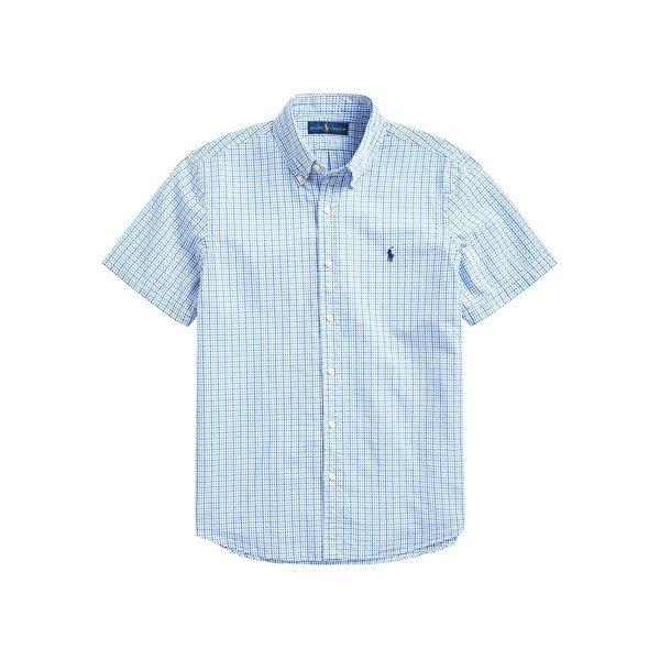 ラルフローレン メンズ シャツ トップス Classic Fit Seersucker Shirt Blue White Multi