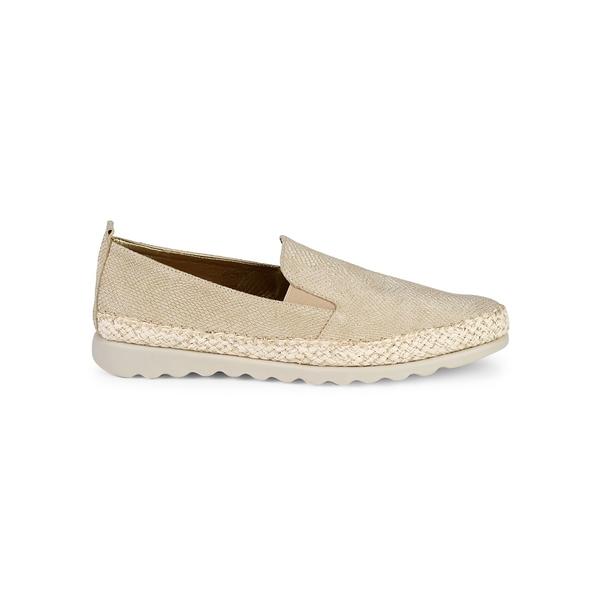 ザフレックス レディース オックスフォード シューズ Chappie Leather Loafers Gold