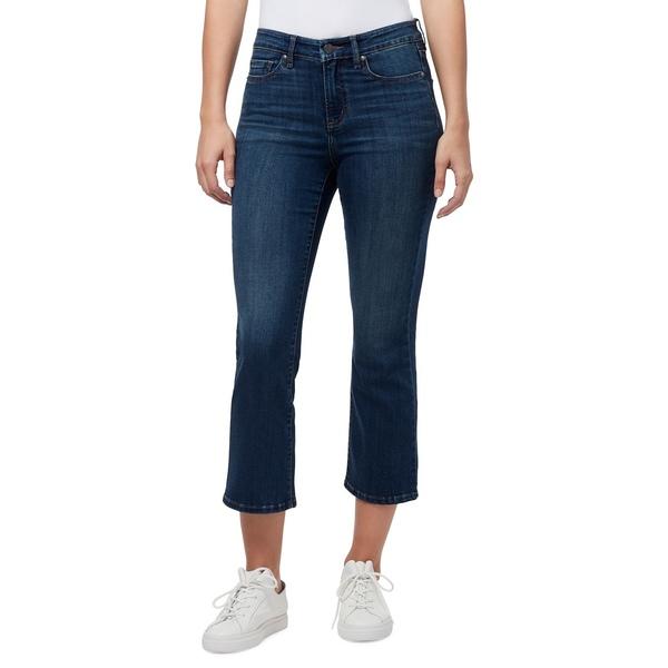 ウィリアム ラスト レディース デニムパンツ ボトムス Mid-Rise Cropped Bootcut Jeans Skyfall