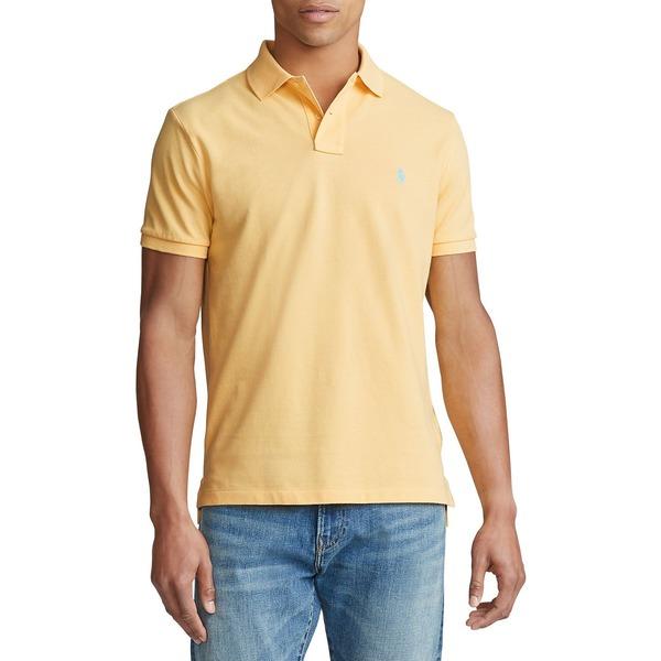 ラルフローレン メンズ シャツ トップス Classic-Fit Mesh Polo Shirt Empire Yellow