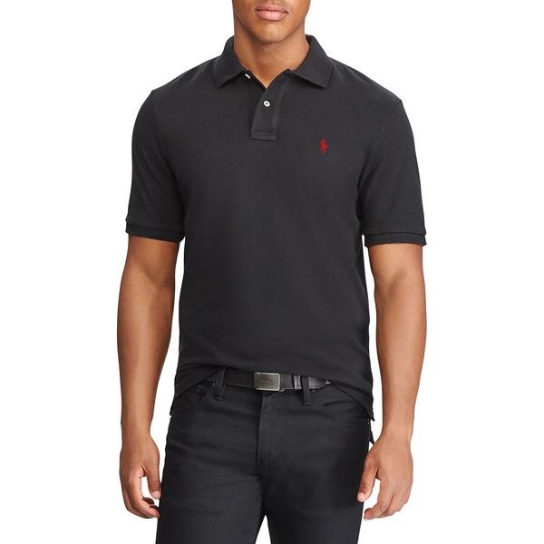 ラルフローレン メンズ シャツ トップス Classic-Fit Mesh Polo Shirt Polo Black