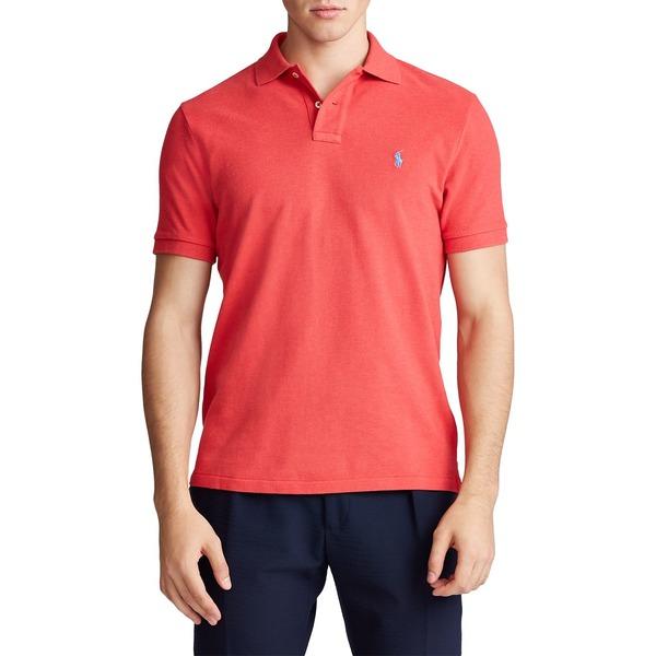 ラルフローレン メンズ シャツ トップス Classic-Fit Mesh Polo Shirt Rosette Heather