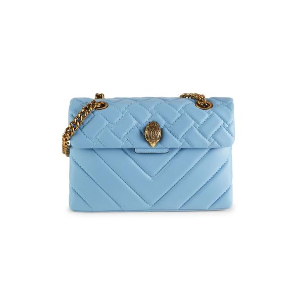 カートジェイガーロンドン レディース ショルダーバッグ バッグ Quilted Kensington Crossbody Bag Blue