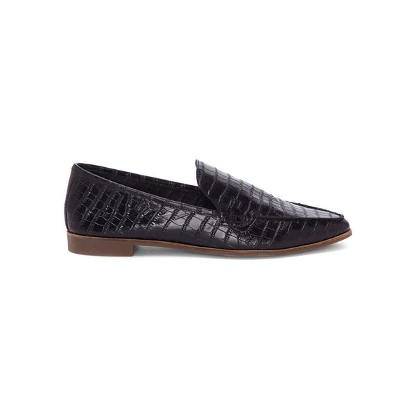 ラッキーブランド レディース オックスフォード シューズ Bejaz Leather Loafers Black