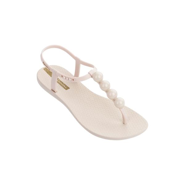 イパネマ レディース サンダル シューズ Pearl T-Strap PVC Sandals Beige