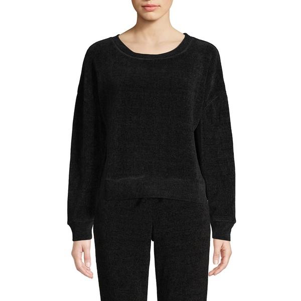 ハニーデュー レディース ニット&セーター アウター Lazy Daze Crewneck Sweater Black