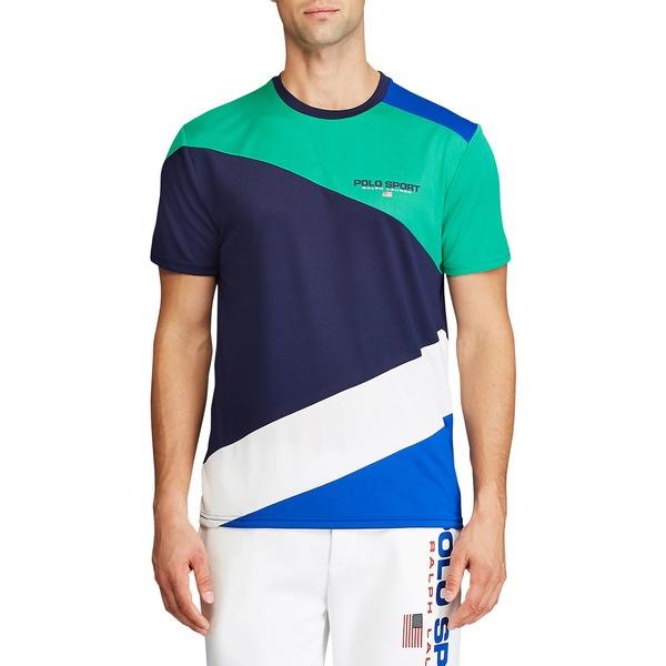 ラルフローレン メンズ シャツ トップス Performance Jersey T-Shirt Navy Multi