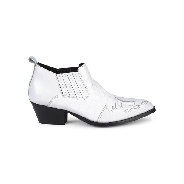 カートジェイガーロンドン レディース ブーツ&レインブーツ シューズ Dillan Leather Booties White