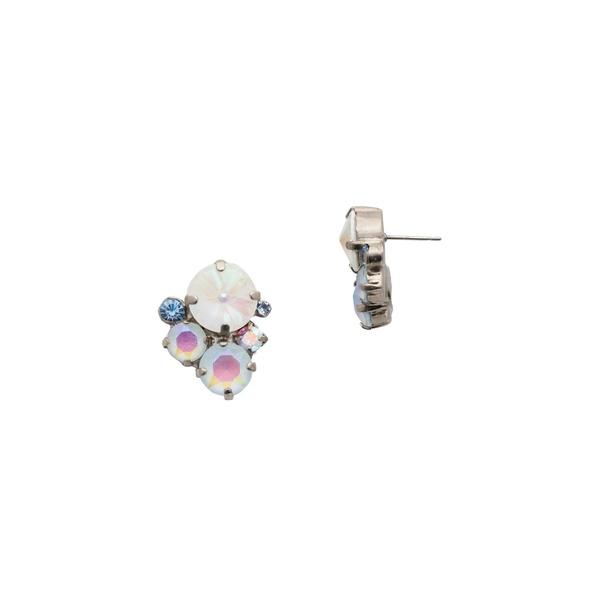 ソレーリ レディース ピアス&イヤリング アクセサリー Glacier Swarovski Crystal Cluster Earrings Multi