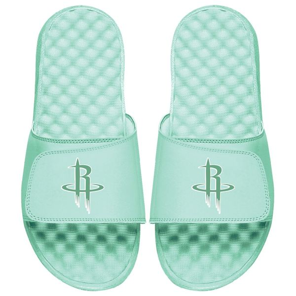 アイスライド メンズ サンダル シューズ Houston Rockets ISlide Seafoam Collection Slide Sandals Mint Green