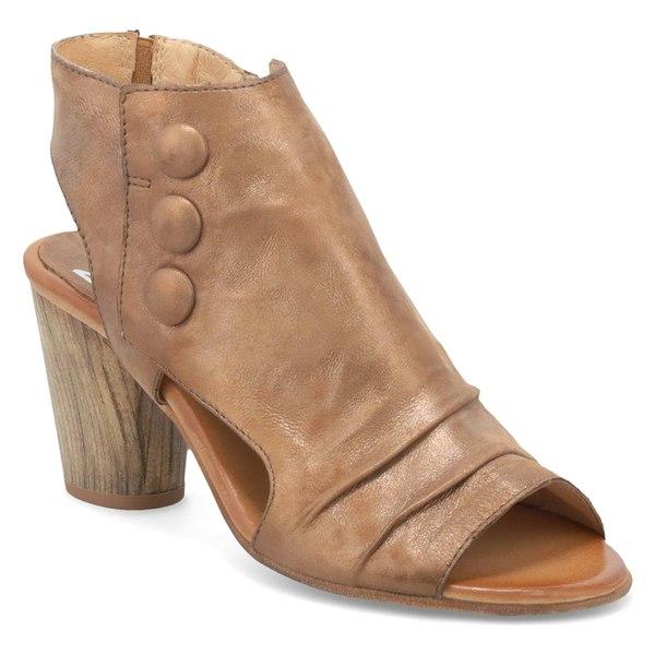 ミズムーズ レディース サンダル シューズ Miz Mooz Bella Slingback Sandal (Women) Bronze Leather