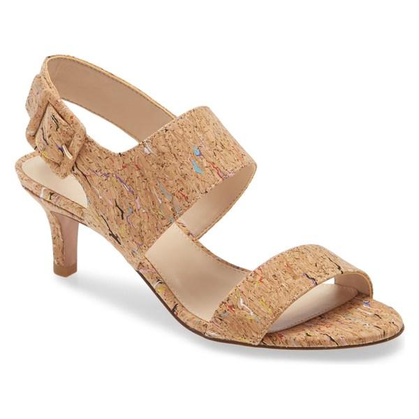 ペレモーダ レディース サンダル シューズ Pelle Moda Bixby Sandal (Women) Cork Multi