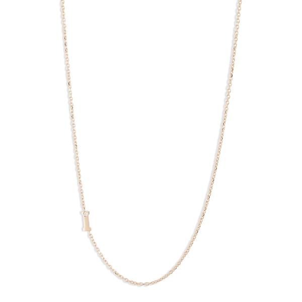 アンジー レディース ネックレス・チョーカー・ペンダントトップ アクセサリー Anzie Diamond Initial Necklace I