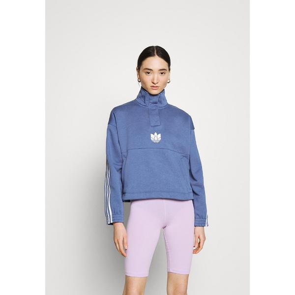 アウター Sweatshirt crew blue レディース アディダスオリジナルス パーカー・スウェットシャツ -