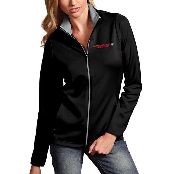 アンティグア レディース ジャケット&ブルゾン アウター Martinsville Speedway Antigua Women's Leader Full Zip Jacket Black