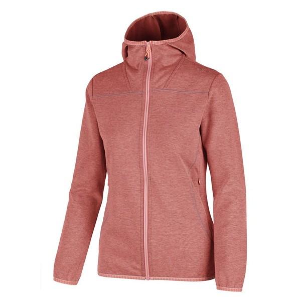 シーエムピー レディース (人気激安) アウター ジャケット ブルゾン Peach Mel falz0133 全商品無料サイズ交換 Hood 最安値 Fix Jacket CMP