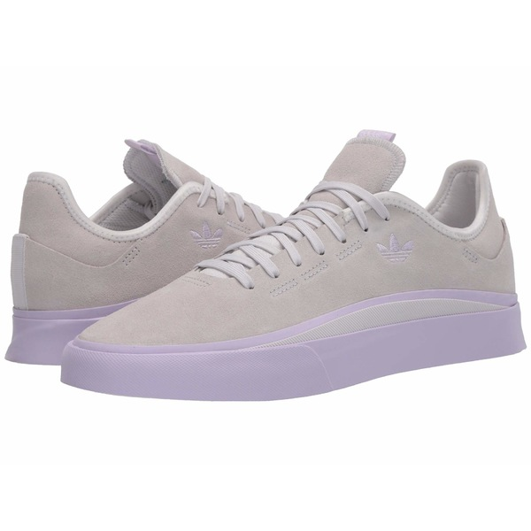 アディダス メンズ スニーカー シューズ Sabalo Crystal White/Purple Tint/Footwear White