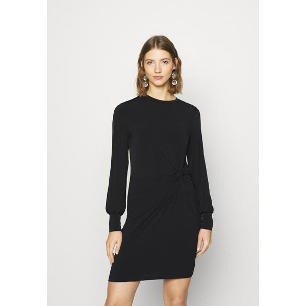 ヴェロモーダ レディース ワンピース トップス VMTWISTED KNOT SHORT DRESS - Jersey dress - black