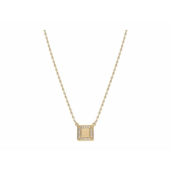 ミアンサイ レディース ネックレス・チョーカー・ペンダントトップ アクセサリー Aria Pendant Necklace Polished Gold/White Sapphire