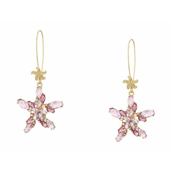 ベッツィジョンソン レディース ピアス&イヤリング アクセサリー Starfish Shepherd Hook Earrings Multi