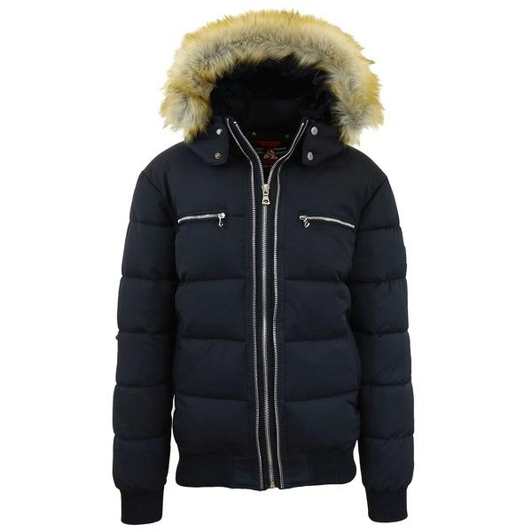 <title>ギャラクシーバイハルビック メンズ アウター ジャケット ブルゾン Black 全商品無料サイズ交換 Men's Heavyweight Jacket With Detachable Faux Fur Hood 商品</title>