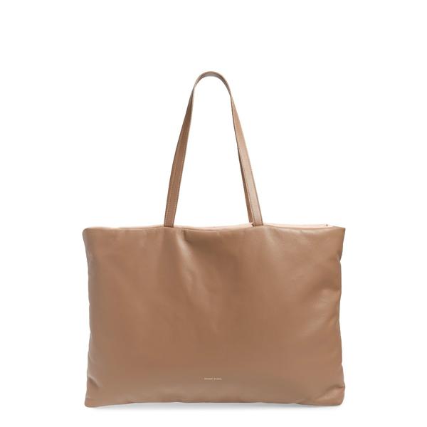 マンスールガブリエル レディース トートバッグ バッグ Pillow Leather Tote Biscotto/ Puff