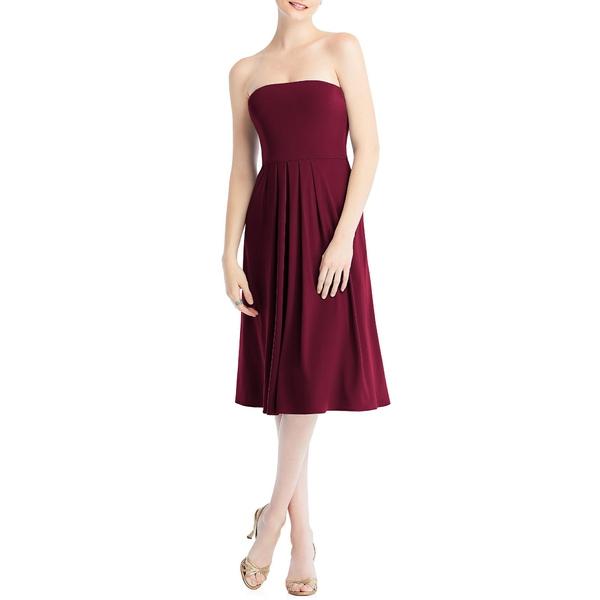ドレッシーコレクション レディース ワンピース トップス Multi-Way Loop Fit & Flare Dress Cabernet