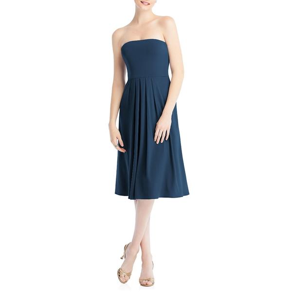 ドレッシーコレクション レディース ワンピース トップス Multi-Way Loop Fit & Flare Dress Sofia Blue