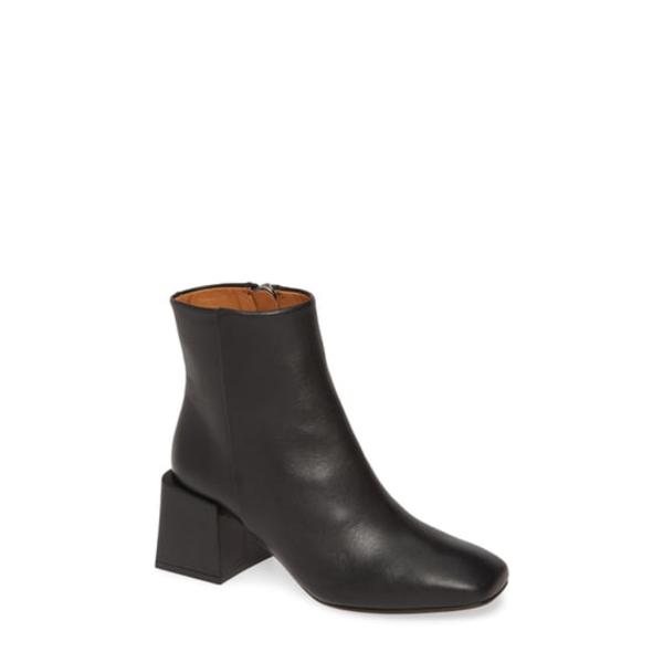 エルオーキュー レディース ブーツ&レインブーツ シューズ Lazaro Block Heel Bootie Negro Leather