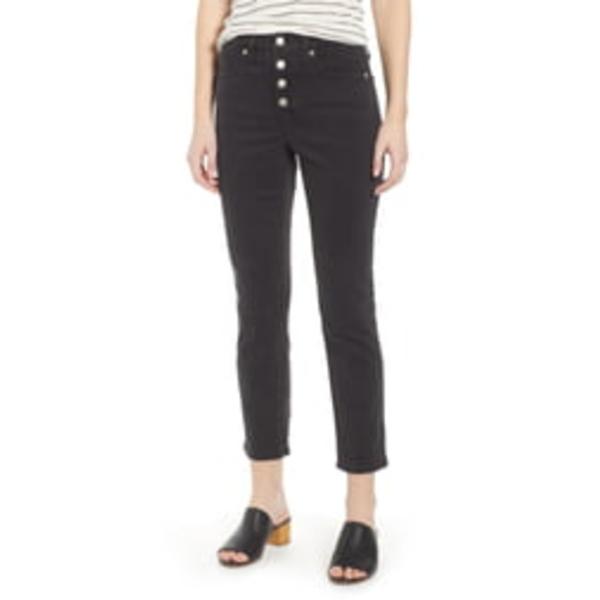 メイドウェル レディース カジュアルパンツ ボトムス Slim Straight Leg Jeans Lunar