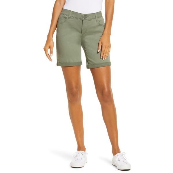 ウィットアンドウィズダム レディース カジュアルパンツ ボトムス Ab-Solution Stretch Twill Shorts Lily Pad
