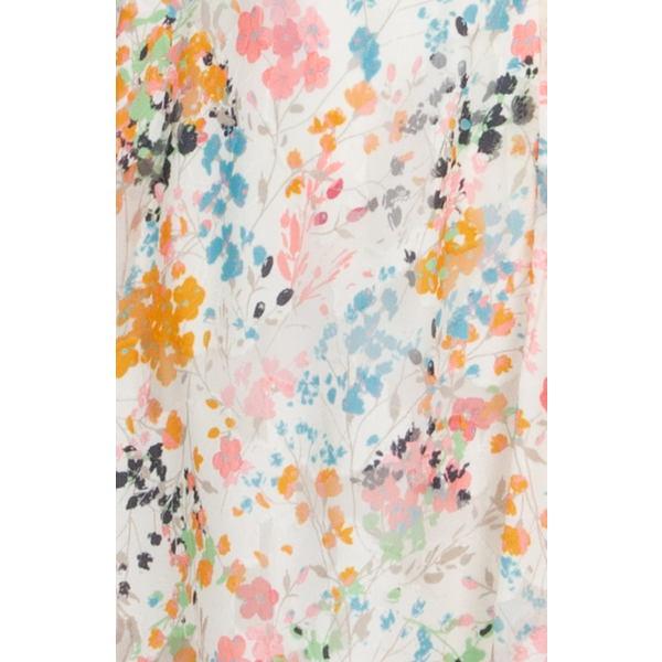 ライチェルレイチェルロイ レディース ワンピース トップス Floral Print Handkerchief Hem Dress Eggshell Combo