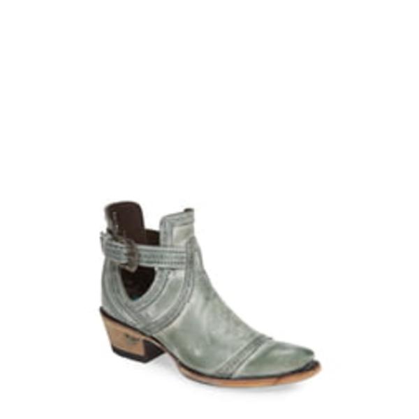 レーンブーツ レディース ブーツ&レインブーツ シューズ Cahoots Bootie Turquoise Leather