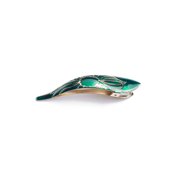 フィカレ レディース ヘアアクセサリー アクセサリー Maximas Lotus Hair Clip Emerald